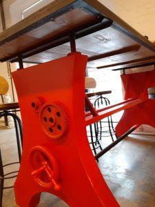 Авторский барный стол в стиле лофт индастриал