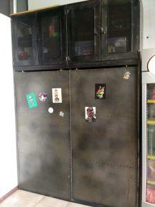шкаф из металла барбершоп империя