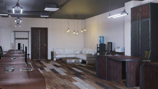 Дизайн офиса лофт