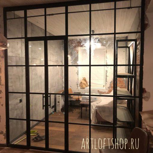 Перегородки в стиле лофт от производителя в Москве.
