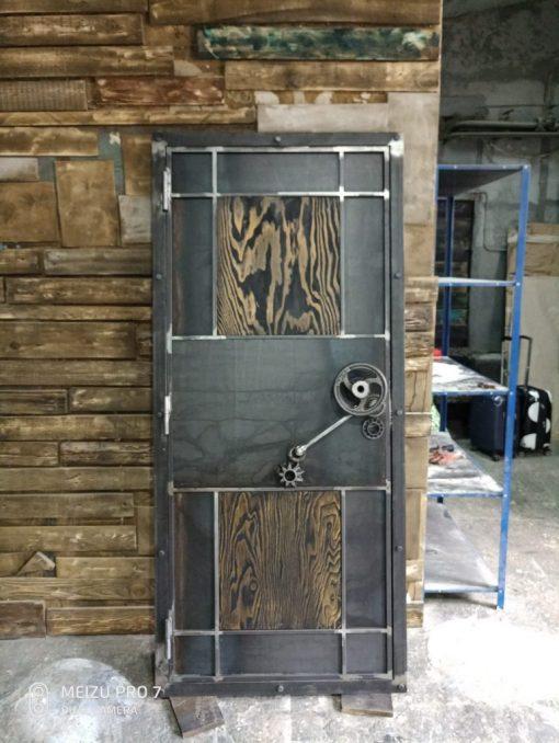 дверь в стиле стимпанк