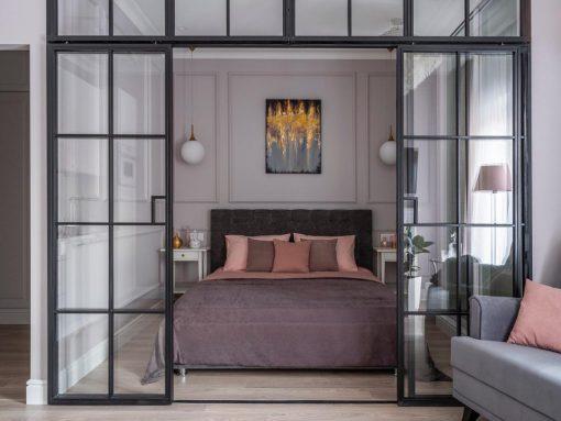 Loft перегородки из стекла