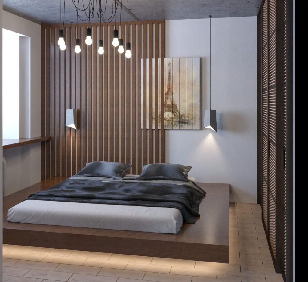 дизайн однокомнатной квартиры1
