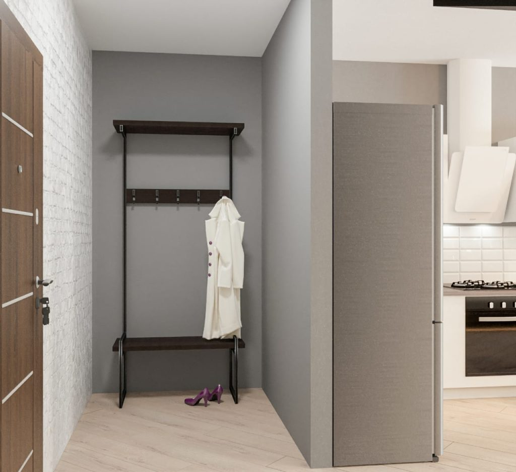дизайн однокомнатной квартиры2