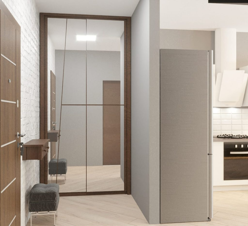 дизайн однокомнатной квартиры3