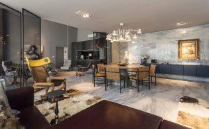 Дизайн 2ух этажной квартиры loft