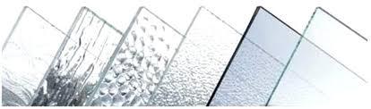 Типы стекла, доступные на рынке