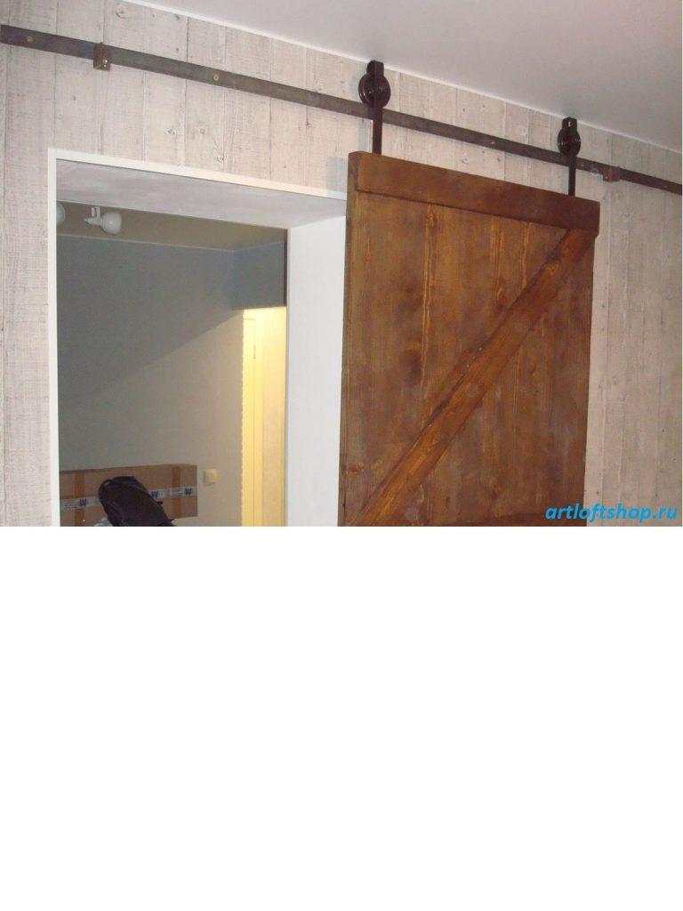 амбарная дверь лофт4