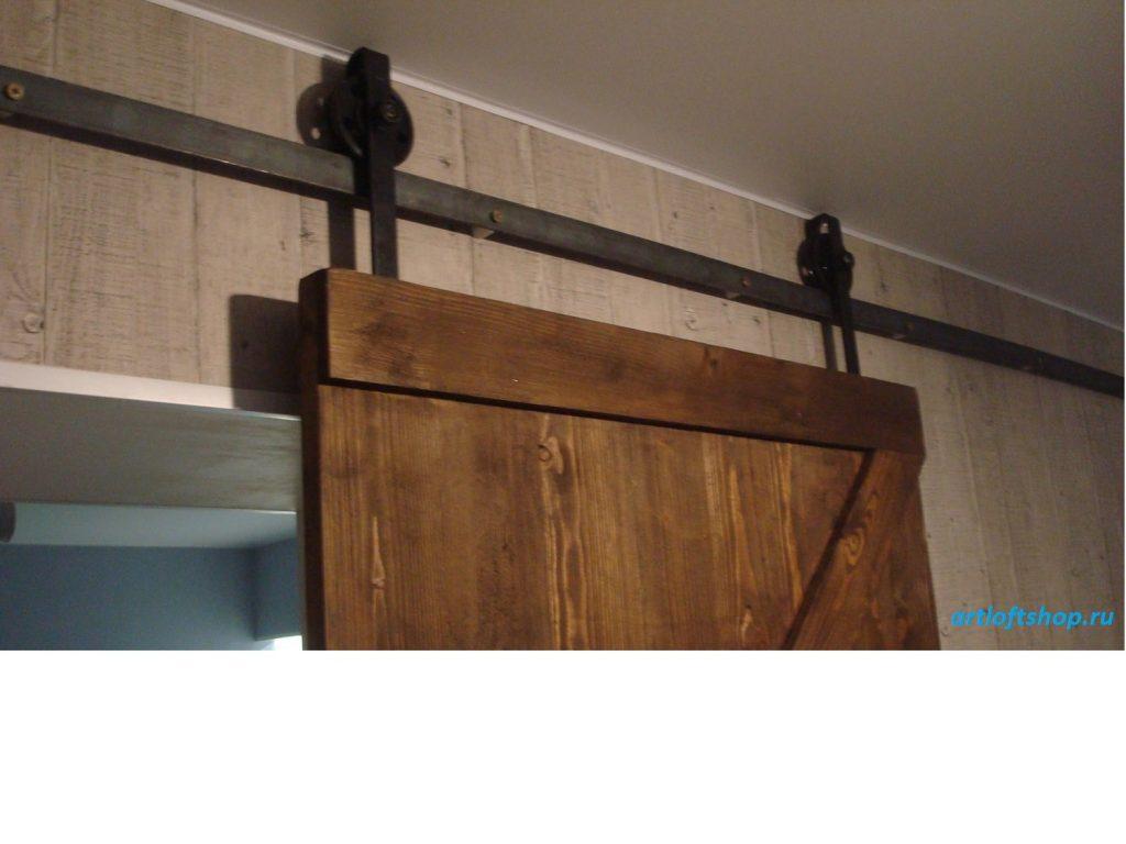 амбарная дверь лофт5