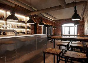 дизайн лофт ресторана2