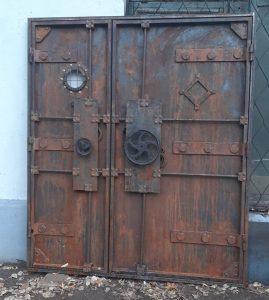 дверь-стимпанк-арт