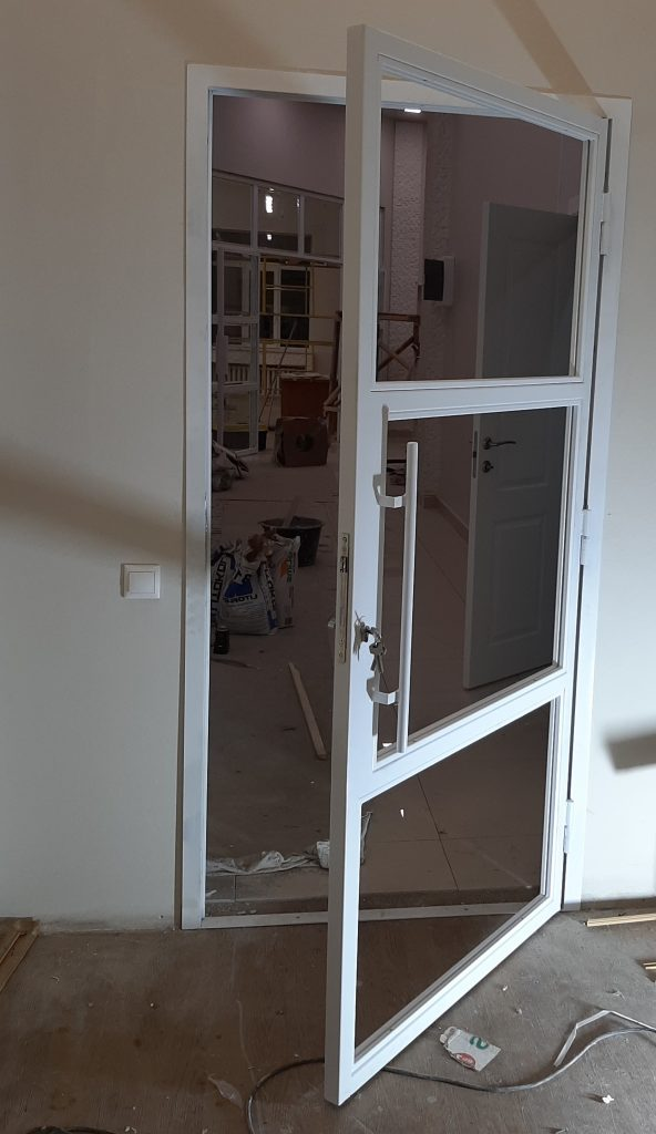 дверь перегородка в стиле лофт