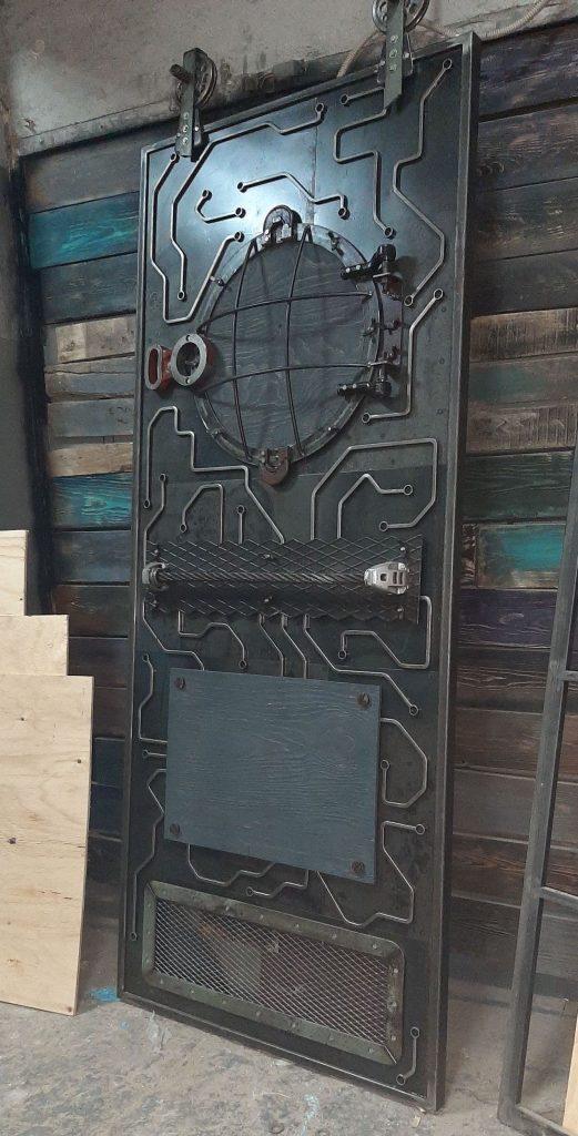 стимпанк двери