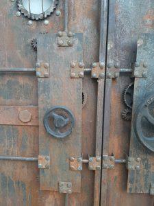 стимпанк-декор-дверь