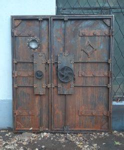 стимпанк-гранж-дверь-металл
