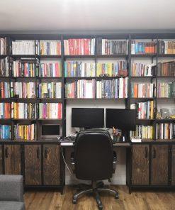 стеллажи для библиотеки