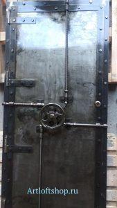 дизайнерская дверь лофт