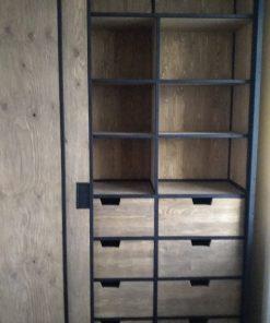 шкаф купе в стиле лофт