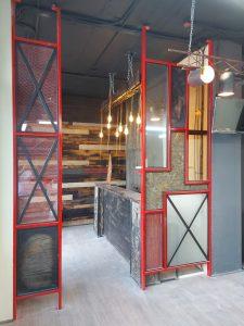 мебель и перегородки для барбершопа