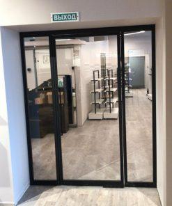 двери на заказ из стекла и стали