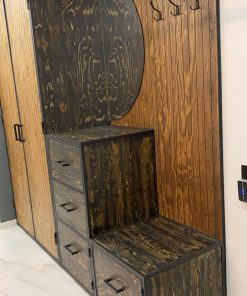 Шкафы в стиле лофт от производителя